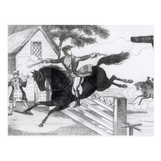 Dick Turpin Postcard
