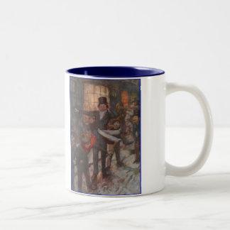Dickens A Christmas Carol Children Two-Tone Mug