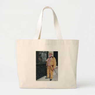 Dickens character tote bags