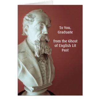 Dickens Graduation Card