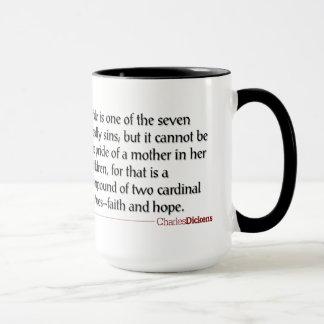 Dickens Quotes - Motherhood Mug