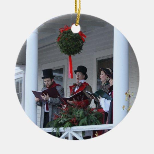 Dickensian Carolers Christmas Ornament