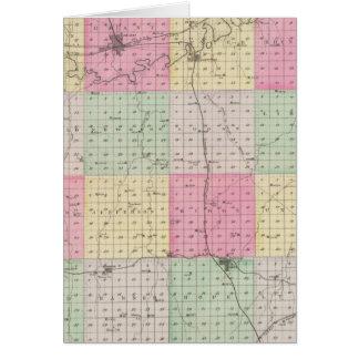 Dickinson County, Kansas Card