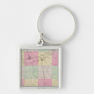 Dickinson County, Kansas Key Ring