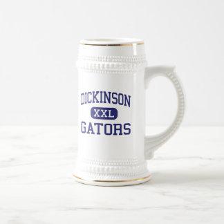Dickinson - Gators - High School - Dickinson Texas Mugs