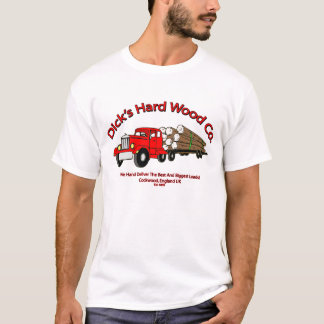 Dicks Hard Wood Company Spoof T-Shirt