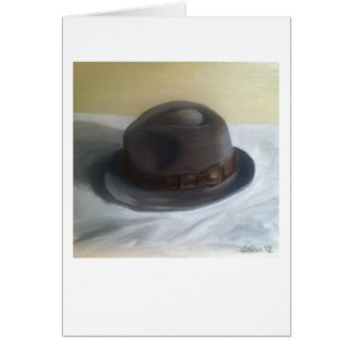 """Dick's Hat"" by Trina Chow Card"