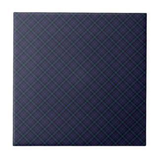 Dickson Clan Tartan Designed Print Tile
