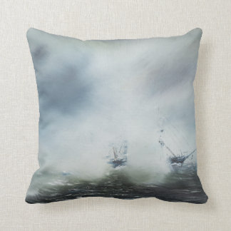 Dicovery a clearing in the sea mist Captain Cushion
