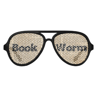 Dictionary Art Adult Aviator Party Shades