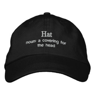 Dictionary.com Hat Embroidered Hat