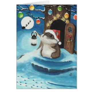 Did I hear Santa? Greeting Card
