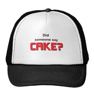 Did someone say cake mesh hats