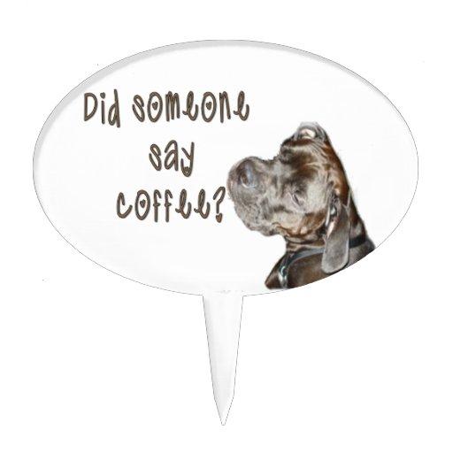 Did someone say coffee? cake pick