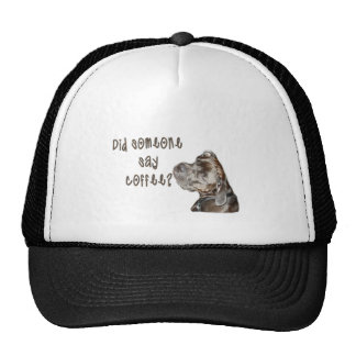 Did someone say coffee? hat