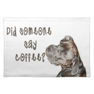 Did someone say coffee? place mats