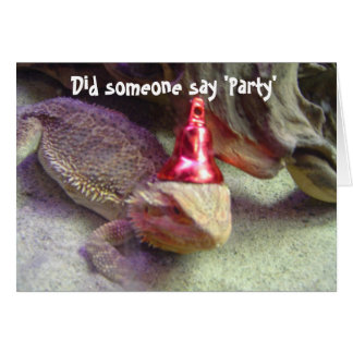 Did someone say Party Greeting Card