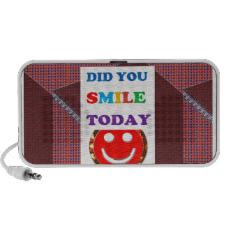DID U Smile 2DAY - Bright Colors Positive Strokes Travelling Speaker