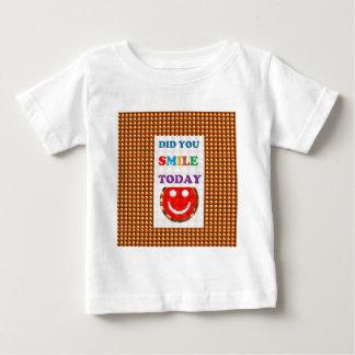 DID U SMILE today? Wisdom Golden Text Jewel FUN Infant T-Shirt