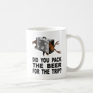 Did You Pack The Beer For The Trip? Coffee Mug