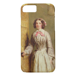 'Did you ring, Sir?', 1854 (oil on canvas) iPhone 8/7 Case