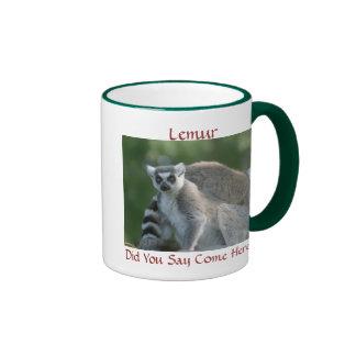 Did You Say Come Here? 15oz Ringer Mug