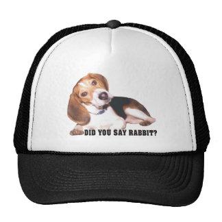 Did you Say Rabbit? Beagle Cap