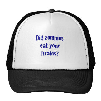 Did Zombies Eat your Brains? Mesh Hats