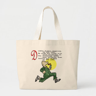 Diddle Diddle Dumpling Jumbo Tote Bag