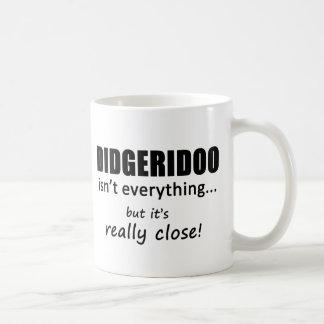 Didgeridoo Isn't Everything Basic White Mug