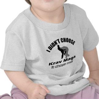Didn t choose krav maga t-shirts