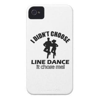 Didn't choose Line Dance iPhone 4 Case-Mate Case