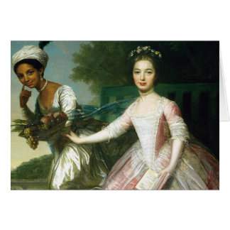 Dido Elizabeth Belle and Lady Murray Greeting Card