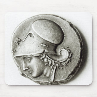 Didrachma of Heracles: obverse depicting Athena Mouse Pad