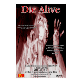 Die Alive (2001) One-sheet poster