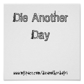 Die Another Day Poster 1