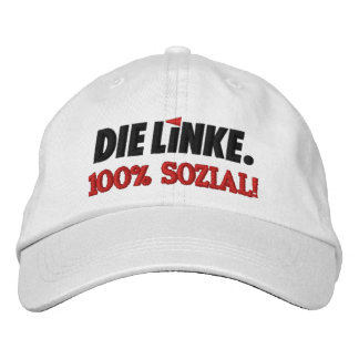 Die Linke Left Party Germany Deutschland Embroidered Baseball Caps