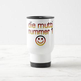 Die Mutti Nummer 1 ( Number 1 Mom in German ) Travel Mug