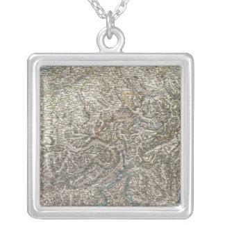 Die Schweiz - Switzerland Silver Plated Necklace