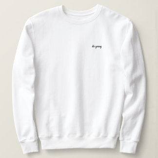Die Young Pullover