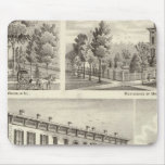 Dieckmann House, and Haller Mouse Pads