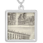 Dieckmann House, and Haller Square Pendant Necklace