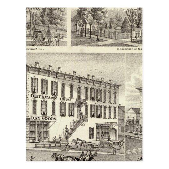 Dieckmann House, and Haller Postcard