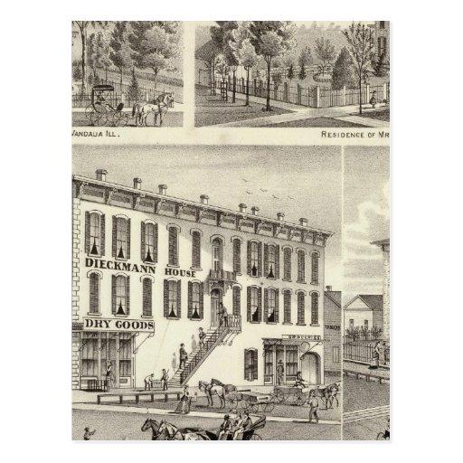 Dieckmann House, and Haller Postcards
