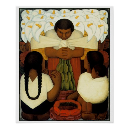 Diego Rivera Art Poster Choose your size