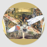 Diego Rivera - Man at the Crossroads Stickers