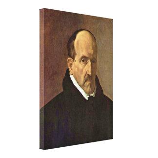 Diego Velazquez - Poet Luis de Gongora y Argote Canvas Prints