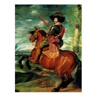 Diego Velazquez - Portrait of Gaspar de Guzmán Postcard