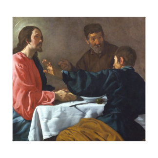 Diego Velázquez The Supper at Emmaus Canvas Print