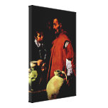 Diego Velazquez - The water seller of Sevilla Stretched Canvas Print